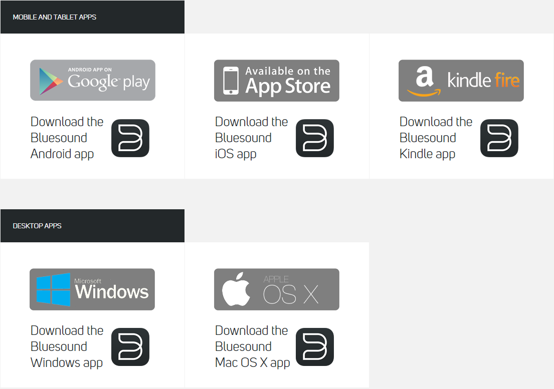 How do I Install and Update the BluOS Apps? – BluOS